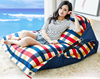 Typical New coming Waterproof Indoor or Outdoor Print Sofa Bed Bean bag