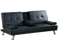 Single futon sofa beds with cup holder,istikbal sofa beds