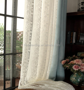White Flower Home Decorate Kitchen Lace Sheer Cafe Curtain - Buy Lace Sheer  Cafe Kitchen Curtains,French Lace Curtains,White Flower Home Decorate Lace  ...