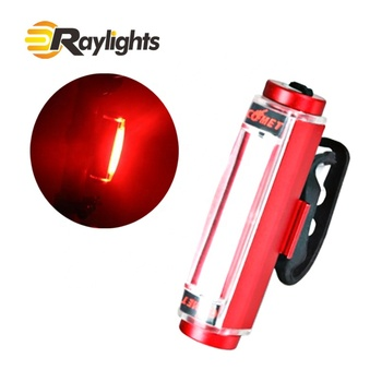 High Visibility Bicycle Taillight Ultra Bright USB Rechargeable LED Bike Back Light
