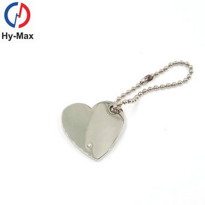 Best Selling Items Logo Customize Metal Human Heart Shape Lover's Keychain, Sublimation Blank Keyring,Keychain Metal