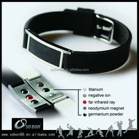 customized magnetic energy jewelry wholesale silicone bracelets autism silicone bracelet