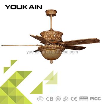 52 Inch Special Design Fancy Ceiling Fan Light