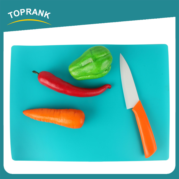 Toprank Set Of 4pcs Plastic PP Kitchen Flexible Cutting Mat Bread Cutting Board Plastic Folding Cutting Board