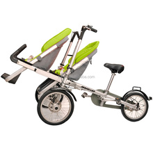 3 Wheels Taga Folding Bike Stroller Twins Seats Mother Baby Pram Bicycle Kids Tricycle Jogger Hot Sale