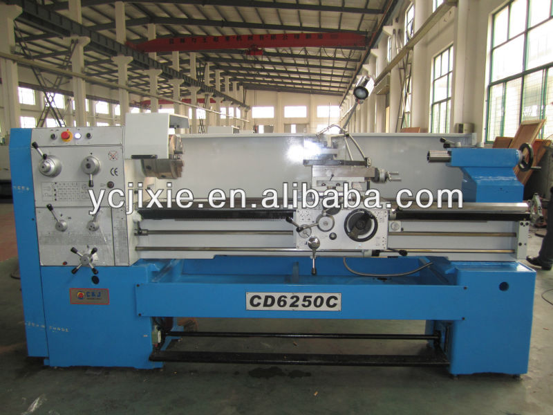 CD6250C china Big spindle Hole 80mm metal gap bed engine lathe