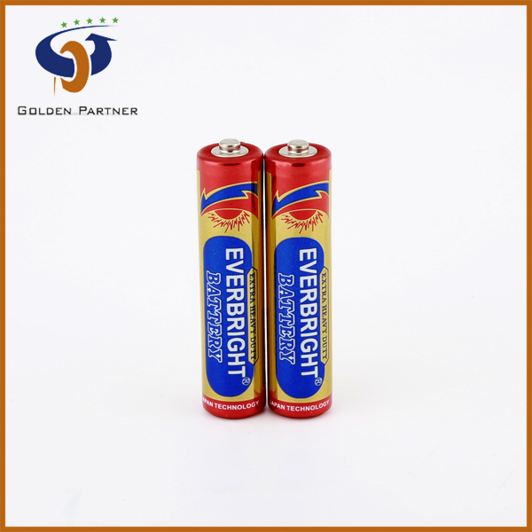 Surplus branded good Zn/Mno2 Battery 1/3 AAA in good quality