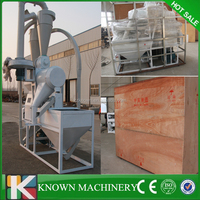 Final produce size 40-140 mesh commercial 10 ton per day wheat maize sifting and flour milling machine