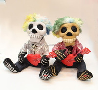 Halloween skull toys with light and sound