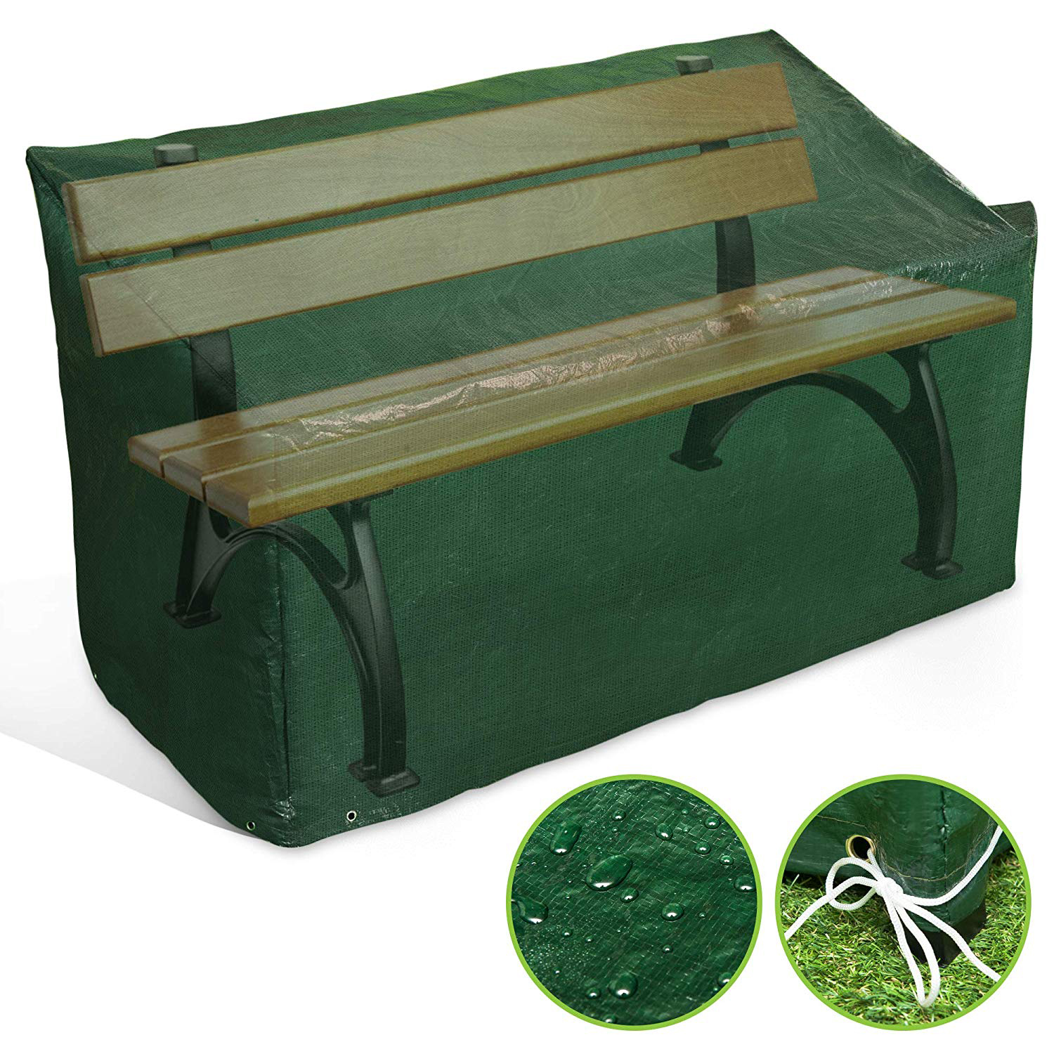 Waterproof and anti-fading outdoor garden furniture 4 seat table cover