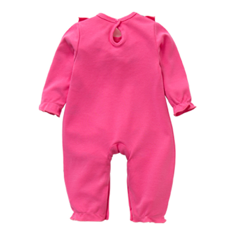 Long sleeve cotton baby romper high quality baby clothes
