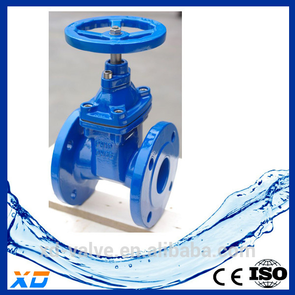 XD Rising Stem Resilient Seated Gate Valve Drawing