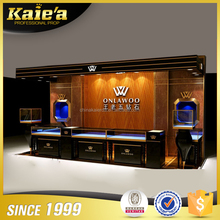 High end glass jewelry display cabinet for jewelry store furniture