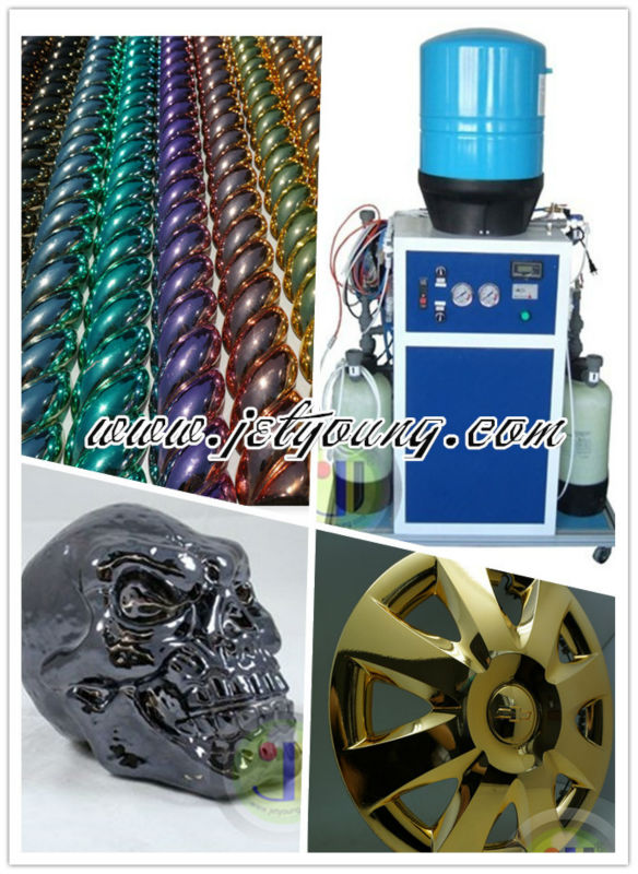 Chrome Plating Machine, Electroplating Effect, Automatic Coating, Mirror paint, Hydro Chrome, For Lowrider.
