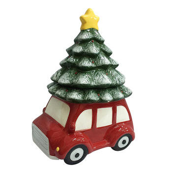 Car Christmas Tree.Ceramic Cookie Jar With A Christmas Tree And Retro Red Car Buy Car Cookie Jar Christmas Tree Cookie Jar Christmas Cookie Jar Product On Alibaba Com