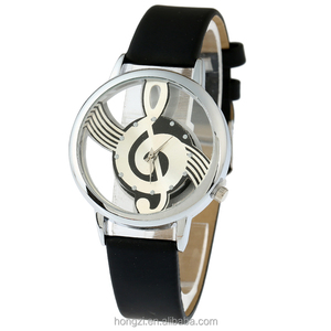 new korean style Melody Music Watch for women Retro watches Vintage Ladies Casual Quartz wristwatch