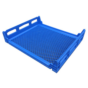 cheap price plastic crate for bread plastic bakery tray