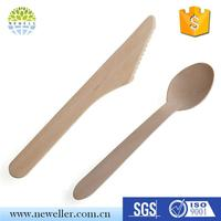 Factory Directly Disposable musical wood spoons for sale with LOGO