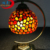 agate gemstones stones turkish style colorful lamp