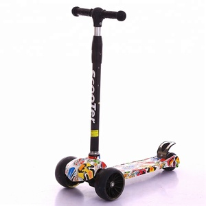 New Arrival Four Wheel Foot Standing Kids Kick Scooter For Girls and Boys