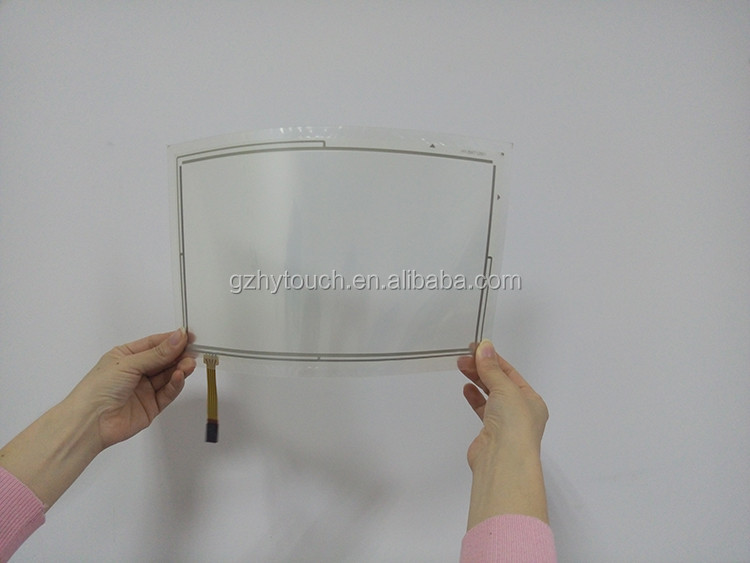 China Manufacturer 4.3 Inch 4 Wires Resistive Glass+film Lcd ...