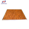 Manufacturer sale wedding event party portable wood dance floor led