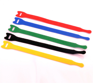 PP Material Plastic Hook and Soft Loop Strap for Cabling Engineering