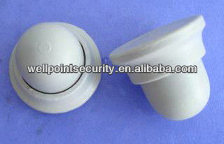 Custom Sphere EAS Security Tag Pin white for supermarket