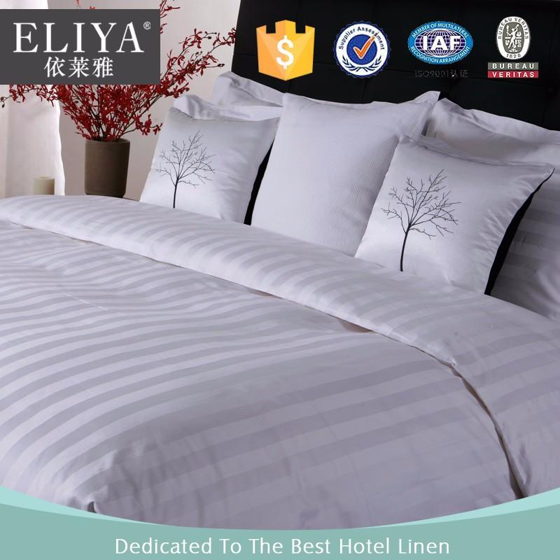 eliya usine prix plaine coton h tel drap de lit ensemble blanc lit feuilles h tels h tel couleur. Black Bedroom Furniture Sets. Home Design Ideas