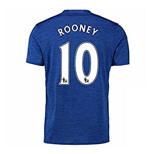 e128895f5e Get Quotations · 2016-17 Manchester United Away Shirt (Rooney 10) - Kids