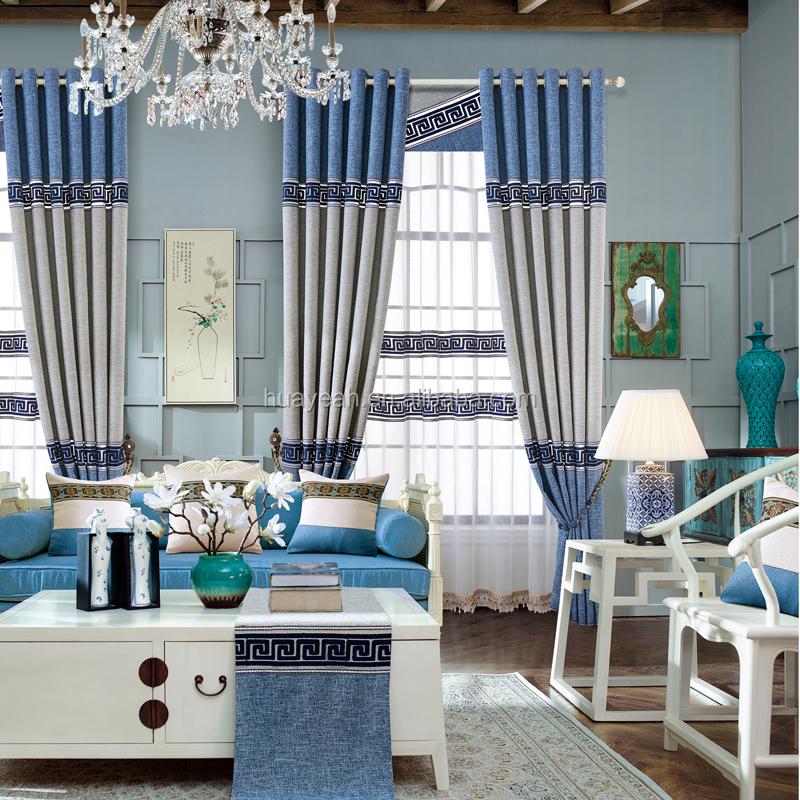 modelos elegantes al por mayor saln cortinas de polister
