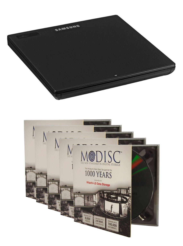 Buy Samsung SE-218GN/RSBD Ultra Slim 9 5mm M-Disc DVD CD External