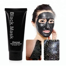 Private Label Diepe Gezichtsreiniging Bamboe Houtskool Mee-eter Remover Activated Houtskool Masker Peel Off Black Mask