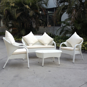 Outdoor/Indoor Rattan Garden Sofa Set