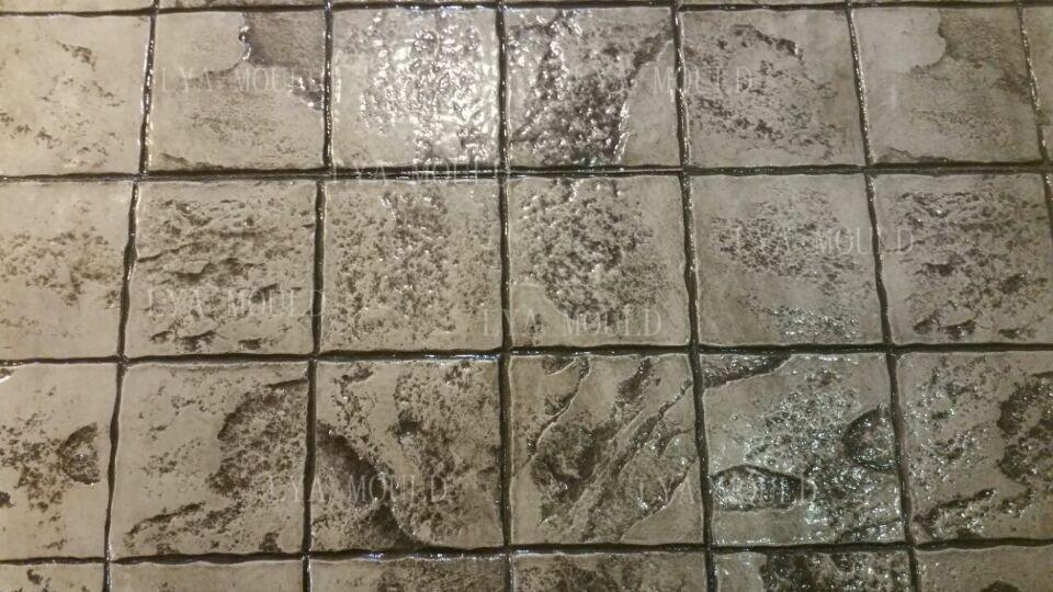 Decorative Concrete Cement Roller Stamped Imprint Molds