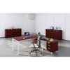 solid wood office table director office desks with cherry top