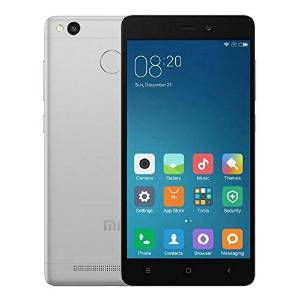 MIUI 7 Redmi 3S 2+16GB 4G LTE Dual Sim Fingerprint Android 6.0 Octa Core 5.0 inch HD 5+13MP Gray