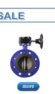 Harga Soft Sealed Manual Worm Gear Double Flange Besi Ulet Double Eksentrik Butterfly Valve