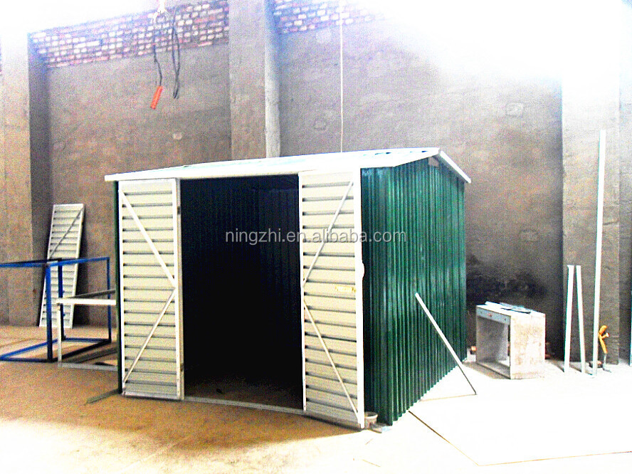 High Strength Garden Shed For Childrens Toys Metal Tools Of