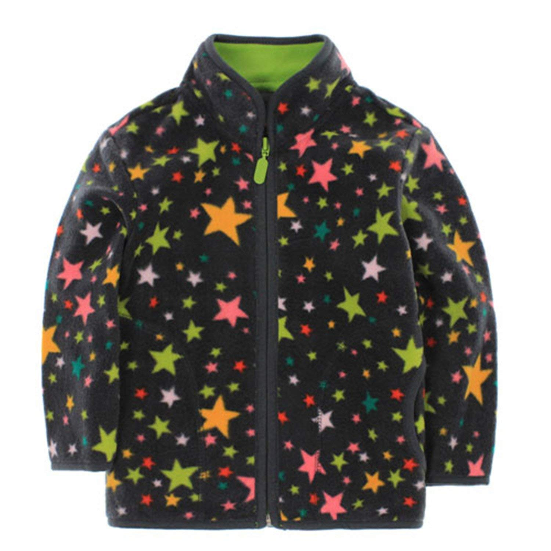 Mofgr 70-120cm Spring Jacket Boys Girls Kids Outerwear Cute Car Windbreaker Coats Fashion Print Canvas