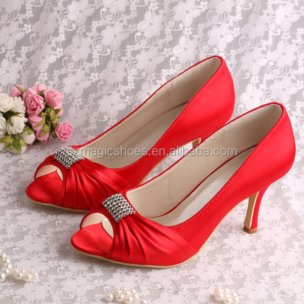 Wedding Red Shoes For Women