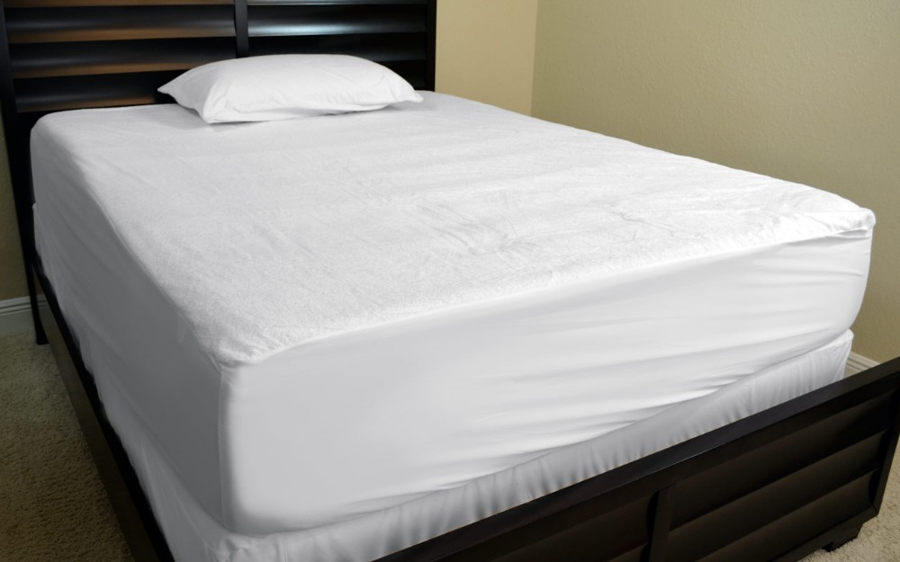 Anti bacteria waterproof bed bug mattress cover buy for How long should a bed mattress last