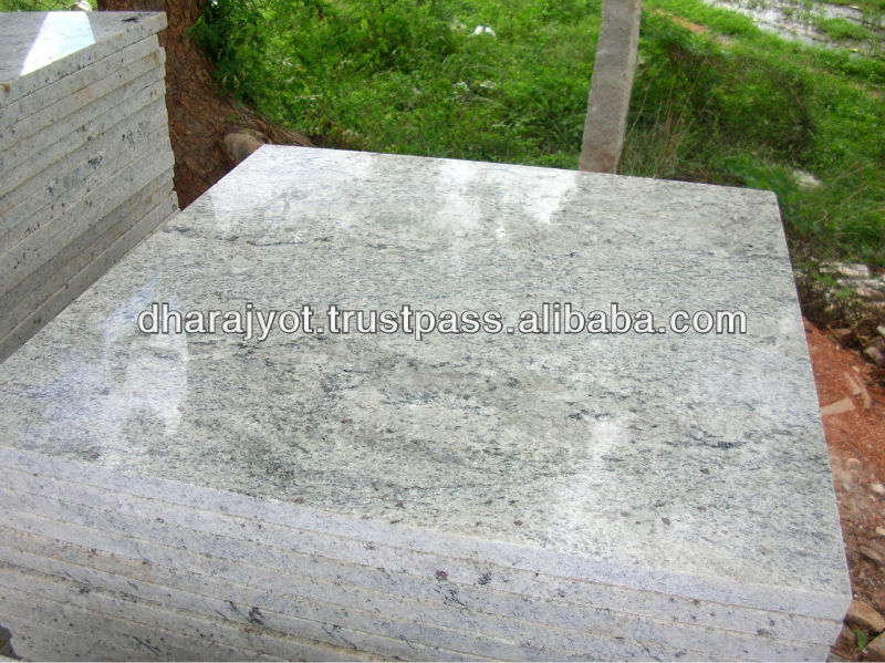 galaxy white granite slab and kota
