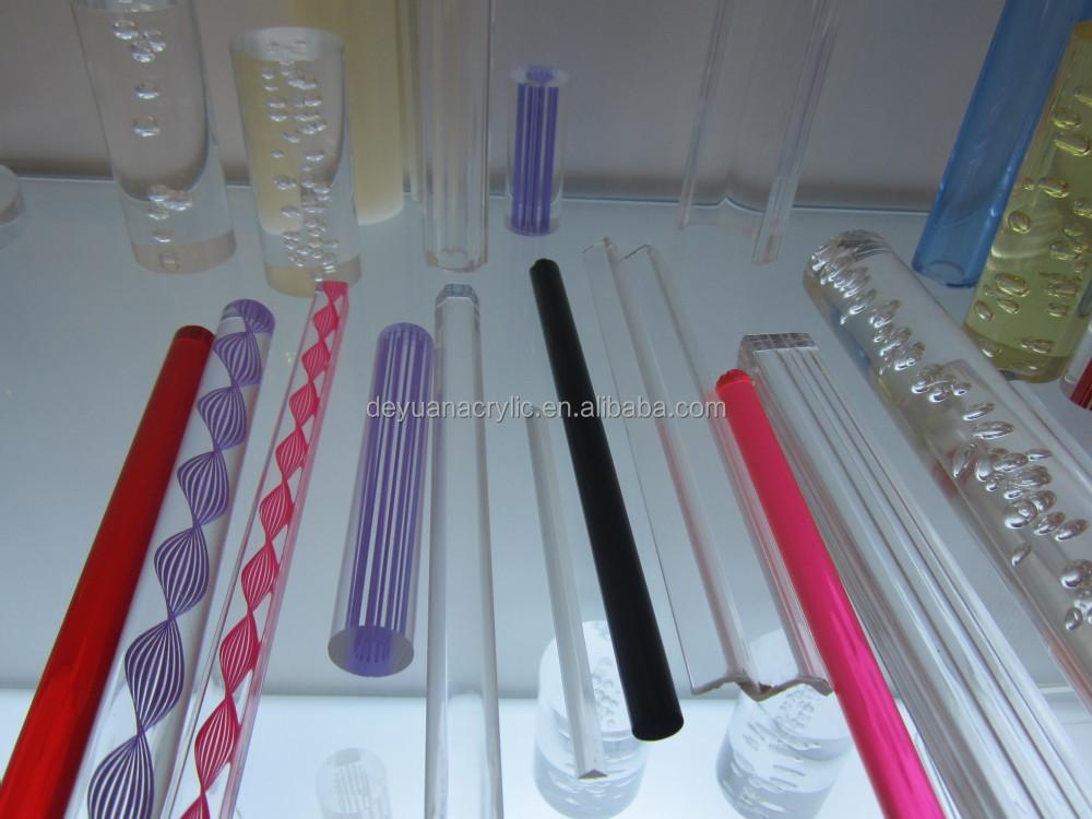 Acrylic Shower Curtain Rod/acrylic Bar/custom Acrylic Rod - Buy ...