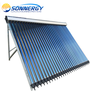 Domestic sun water heater solar thermal heat pipe solar collector price