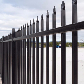 Stainless Steel Fences And Gate Garden Pool Powder Coated Galvanized Fence Post