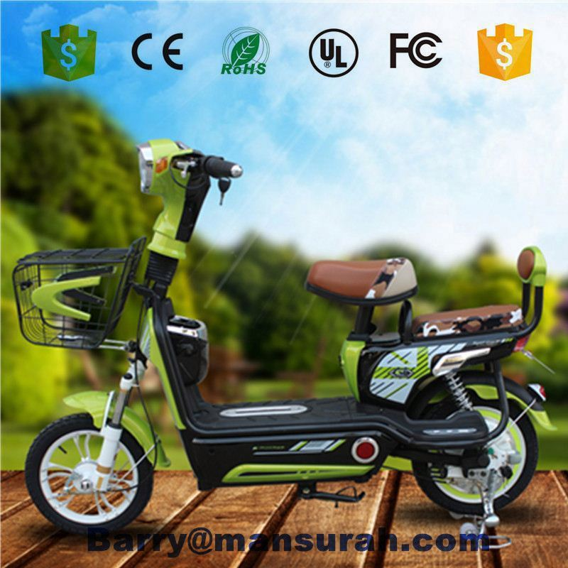 2015 dongguan tailg cheap promotion city electric bicycle with basket for sale
