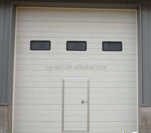 Huge Warehouse Solid Sectional Industrial Lifting Door