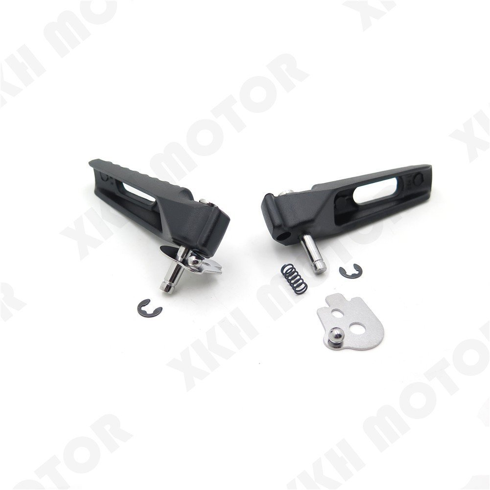 XKH Group Motorcycle Black Rear Foot Pegs Footrest Fit For Honda Cbr1000Rr Cbr600Rr Cb1000R new