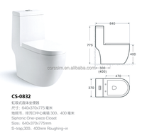 Siphonic bathroom one piece washdown wc toilet bowl price brand